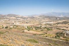 Άποψη πέρα από το νησί Antiparos, Ελλάδα Στοκ Φωτογραφίες