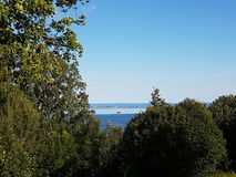 Άποψη πέρα από το τοπίο στοκ εικόνες