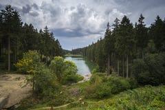 Άποψη πέρα από το Harz στη Γερμανία Στοκ φωτογραφία με δικαίωμα ελεύθερης χρήσης