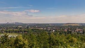 Άποψη πέρα από Bottrop, Γερμανία στοκ φωτογραφίες