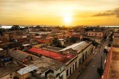 Άποψη πέρα από Cienfuegos Στοκ Εικόνα