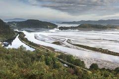 Άποψη πέρα από Moine Mhor σε Crinan στη δύση Argyll Στοκ φωτογραφίες με δικαίωμα ελεύθερης χρήσης