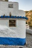 Άποψη πέρα από Sacromomonte στη Γρανάδα, Ισπανία στοκ εικόνα