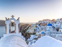 Άποψη πέρα από Santorini Στοκ φωτογραφίες με δικαίωμα ελεύθερης χρήσης