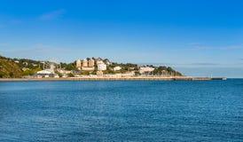 Άποψη πέρα από Torbay προς το λιμάνι Torquay Στοκ εικόνα με δικαίωμα ελεύθερης χρήσης