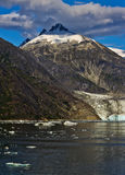 Άποψη 4 παγετώνων Mendenhall Στοκ εικόνα με δικαίωμα ελεύθερης χρήσης