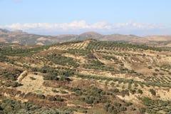 Άποψη πανοράματος της νοτιοδυτικής Κρήτης, Ελλάδα Στοκ Εικόνες