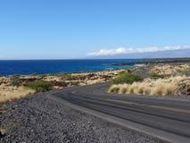 """Άποψη παραλία και ακτή owali σχετικά με του Manini """"στο μεγάλο νησί, Χαβάη στοκ φωτογραφία με δικαίωμα ελεύθερης χρήσης"""