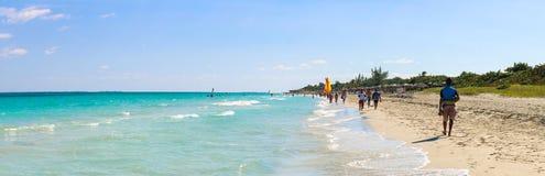 Άποψη παραλιών, Κούβα, Varadero Στοκ Εικόνες