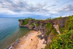 Άποψη παραλιών Balangan, Jimbaran, νότος Kuta, Μπαλί, Ινδονησία Στοκ εικόνες με δικαίωμα ελεύθερης χρήσης