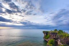 Άποψη παραλιών Balangan, Jimbaran, νότος Kuta, Μπαλί, Ινδονησία Στοκ φωτογραφία με δικαίωμα ελεύθερης χρήσης