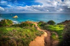 Άποψη παραλιών σχετικά με Praia DA Rocha Στοκ Φωτογραφίες