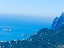 Άποψη παραλιών του Ρίο στοκ φωτογραφία με δικαίωμα ελεύθερης χρήσης
