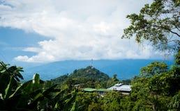 Άποψη περιοχής του Manuel Antonio στοκ εικόνα