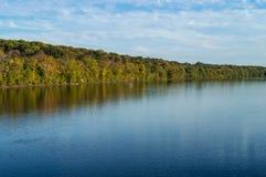 Άποψη ποταμών του Ντελαγουέρ στοκ φωτογραφία με δικαίωμα ελεύθερης χρήσης