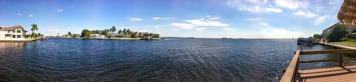 Άποψη ποταμών Στοκ φωτογραφία με δικαίωμα ελεύθερης χρήσης