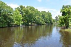Άποψη ποταμών Στοκ φωτογραφίες με δικαίωμα ελεύθερης χρήσης