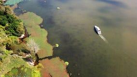 Άποψη πουλιών της λίμνης Qionghai σε Xichangï ¼ ŒChina Στοκ Φωτογραφίες