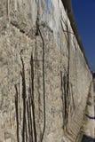 Άποψη προοπτικής του υπολοίπου του τείχους του Βερολίνου Στοκ Εικόνες