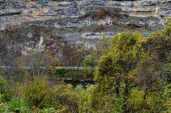 Άποψη προς μέρος του ποταμού Iskar και defile Iskar, Lakatnik Στοκ εικόνες με δικαίωμα ελεύθερης χρήσης