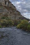 Άποψη προς μέρος του ποταμού Iskar και defile Iskar, Lakatnik Στοκ φωτογραφία με δικαίωμα ελεύθερης χρήσης
