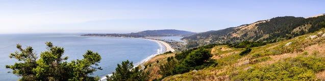 Άποψη προς την παραλία Stinson στοκ φωτογραφία με δικαίωμα ελεύθερης χρήσης