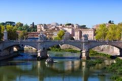 Άποψη προς το Ponte Sant'Angelo Στοκ Φωτογραφίες