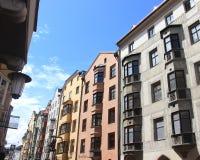 Άποψη πρωινού από την οδό Στοκ φωτογραφίες με δικαίωμα ελεύθερης χρήσης