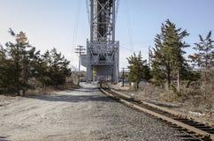 Άποψη πρωινού της γέφυρας σιδηροδρόμου καναλιών βακαλάων ακρωτηρίων στοκ εικόνες