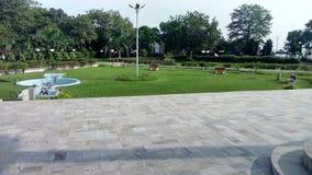 Άποψη πρωινού του κήπου Στοκ φωτογραφία με δικαίωμα ελεύθερης χρήσης