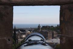 Άποψη πυροβόλων Στοκ εικόνα με δικαίωμα ελεύθερης χρήσης