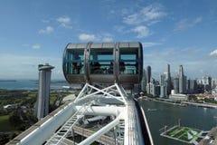 Άποψη πόλεων από το ιπτάμενο της Σιγκαπούρης στοκ φωτογραφία με δικαίωμα ελεύθερης χρήσης