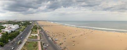 Άποψη πόλεων να ενσωματώσει Chennai, Ινδία Στοκ Εικόνες