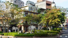 Άποψη πόλεων στην Ταϊβάν Στοκ φωτογραφία με δικαίωμα ελεύθερης χρήσης