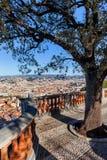 Άποψη πόλεων της Νίκαιας στη Γαλλία Στοκ εικόνες με δικαίωμα ελεύθερης χρήσης