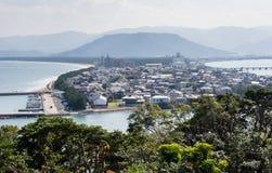 Άποψη πόλεων Karatsu το πρωί στοκ εικόνες με δικαίωμα ελεύθερης χρήσης