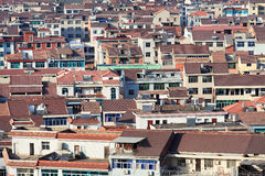 Άποψη πόλεων σχετικά με Hengdian, επαρχία Zhejiang, Κίνα Στοκ φωτογραφία με δικαίωμα ελεύθερης χρήσης
