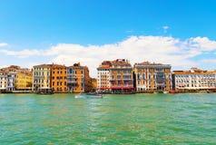 Άποψη πόλεων της Βενετίας Στοκ Φωτογραφίες