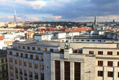 Άποψη πόλεων της Πράγας στοκ φωτογραφία με δικαίωμα ελεύθερης χρήσης
