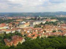 Άποψη πόλεων της Πράγας Στοκ φωτογραφίες με δικαίωμα ελεύθερης χρήσης
