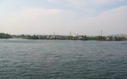 Άποψη πόλεων της Σιβηρίας Στοκ φωτογραφία με δικαίωμα ελεύθερης χρήσης