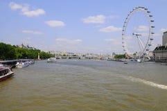 Άποψη πόλεων του Λονδίνου. Στοκ φωτογραφία με δικαίωμα ελεύθερης χρήσης