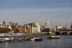 Άποψη πόλεων του Λονδίνου Στοκ Εικόνες