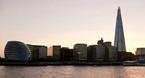 Άποψη πόλεων του Λονδίνου Στοκ Φωτογραφίες