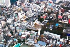 Άποψη πόλεων του Τόκιο Στοκ Εικόνες