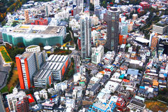 Άποψη πόλεων του Τόκιο Στοκ φωτογραφία με δικαίωμα ελεύθερης χρήσης