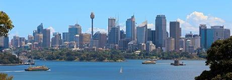 Άποψη πόλεων του Sidney στοκ φωτογραφία