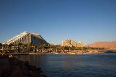 Άποψη πόλεων Eilat στοκ εικόνες