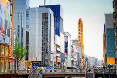Άποψη πόλεων Shinsaibashi που ψωνίζει arcade στις 18 Απριλίου 2014 στην Οζάκα, ΙΑΠΩΝΙΑ Στοκ φωτογραφίες με δικαίωμα ελεύθερης χρήσης