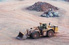 Άποψη σε ένα ορυχείο λατομείων porphyry του βράχου στοκ φωτογραφίες